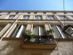 Hôtel de Saint-Félix - Català: Façana i balcó de l'Hôtel de Saint-Félix (Montpeller)