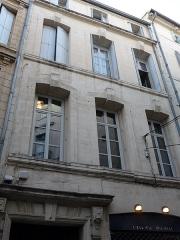 Hôtel des Vignes - Català: Façana de l'Hôtel des Vignes (Montpeller)