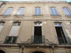 Hôtel Lamouroux - Català: Façana de l'Hôtel Lamouroux (Montpeller)