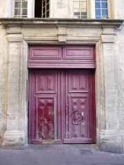 Ancien logis du Chapeau Rouge - Català: Antic habitatge del Chapeau Rouge (Montpeller)
