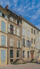Hôtel de Bezons - English: 22-24 Cours Jean Jaurès in Pézenas, Hérault, France