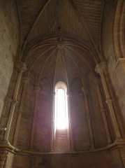 Abbaye de Vignogoul - Absidiole nord de l'abbatiale de Vignogoul en Pignan (34).