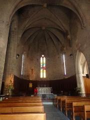 Eglise Saint-Félix - Portiragnes (Hérault) - Nef de l'église Saint-Félix.