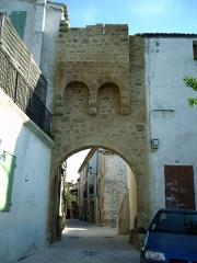 Ancienne enceinte -  Porte médievale à Prades-le-Lez (Hérault)