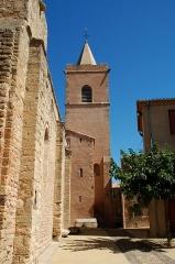 Eglise Sainte-Marie - France - Languedoc - Hérault - Église Sainte-Marie de Quarante - clocher
