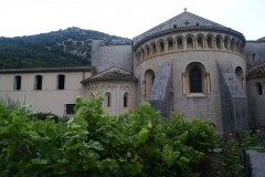 Ancienne abbaye de Gellone - This building is en partie classé, en partie inscrit au titre des Monuments Historiques. It is indexed in the Base Mérimée, a database of architectural heritage maintained by the French Ministry of Culture, under the reference PA00103690 .