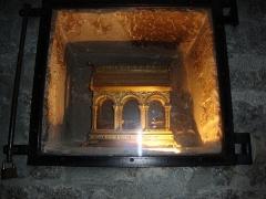 Ancienne abbaye de Gellone - English: Saint-Guilhem-le-Désert abbaye de Gellone reliquaire
