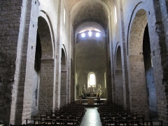 Ancienne abbaye de Gellone - Intérieur de l'Abbaye de Saint-Guilhem-le-Désert