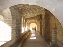 Ancienne abbaye de Gellone - English: St.Guilhem-le-Désert cloitre intérieur