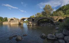 Restes du pont romain - English: Roman Bridge, Saint-Thibéry, Hérault, France