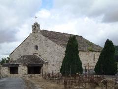 Ancienne église Saint-Etienne-de-Cavall - English: La Salvetat-sur-Agout (Hérault, Fr) church St.Étienne-de-Cavall