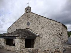 Ancienne église Saint-Etienne-de-Cavall - English: La Salvetat-sur-Agout (Hérault, Fr) Chapelle de Saint Étienne de Cavall