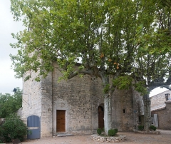 Eglise Saint-Martin -  Saint Martin Church Sauteyrargues, XIIth century.