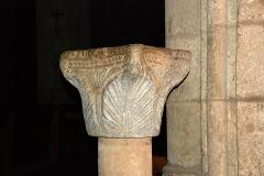 Eglise Notre-Dame de Grâce - France - Languedoc - Hérault - Sérignan - Collégiale Notre-Dame-de-Grâce - bénitier