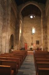 Eglise Sainte-Léocadie - Français:   Vic-la-Gardiole (Hérault)- Sainte-Léocadie - nef.