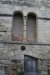Hôtel des Monnaies - Français:   Villemagne-l\'Argentière (Hérault) - Maison des Monnaies - fenêtre 1 (avant restauration).