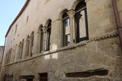 Hôtel des Monnaies - Français:   Villemagne-l\'Argentière (Hérault) - Maison des Monnaies (art roman), après restauration