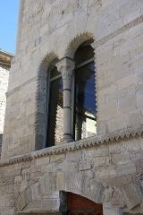 Hôtel des Monnaies - Français:   Villemagne-l\'Argentière (Hérault) - Maison des Monnaies - fenêtre 1 (après restauration).