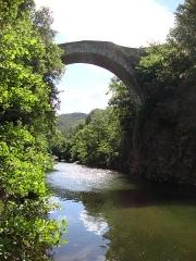 Pont du Diable - English: Villemagne-l'Argentière (Hérault, Fr) pont du diable sur la Mare