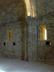 Ensemble historique et archéologique de la cité épiscopale et canoniale de Maguelone - Chœur canonial de la cathédrale Saint-Pierre-et-Saint-Paul de Maguelone (34).