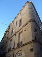 Immeuble, ancienne synagogue - Català: Antiga sinagoga (Montpeller)