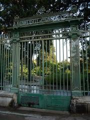 Jardin des Plantes - Català: Porta del Jardin des Plantes (Montpeller)