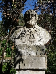 Jardin des Plantes - Català: Bust de Guillaume Rondelet al Jardí Botànic de Montpeller