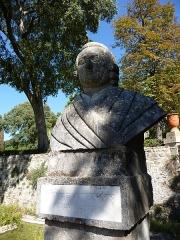 Jardin des Plantes - Català: Bust de Pierre Cusson al Jardí Botànic de Montpeller