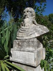 Jardin des Plantes - Català: Bust de Pierre Richer de Belleval al Jardí Botànic de Montpeller