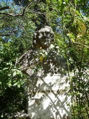 Jardin des Plantes - Català: Bust de François Boissier de Sauvages de Lacroix al Jardí Botànic de Montpeller