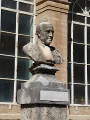 Jardin des Plantes - Català: Bust de Jules Émile Planchon al Jardí Botànic de Montpeller
