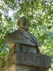Jardin des Plantes - Català: Bust d'Antoine Gouan al Jardí Botànic de Montpeller