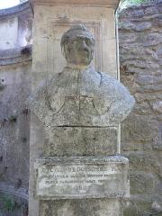 Jardin des Plantes - Català: Bust de Pierre Marie Auguste Broussonet al Jardí Botànic de Montpeller