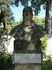 Jardin des Plantes - Català: Bust de Guillaume Pellicier al Jardí Botànic de Montpeller