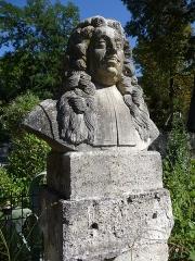 Jardin des Plantes - Català: Bust de Pierre Magnol al Jardí Botànic de Montpeller