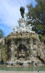 Jardin du Plateau des Poètes - English: Fountain of Titan (1893), Plateau des poètes (Béziers) by Jean Antoine Injalbert (1845-1933)