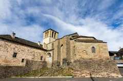 Eglise Saint-Antoine - Français:   Église Saint-Blaise de Chasseradès (France).