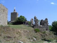 Ruines du château - English: Château de Luc