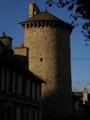 Tour des Pénitents - This building is indexed in the Base Mérimée, a database of architectural heritage maintained by the French Ministry of Culture, under the reference PA00103881 .