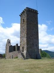 Château de la Garde-Guérin - English: La Garde-Guérin., tour et ruines du château