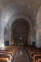 Eglise paroissiale Sainte-Enimie - Français:   Église paroissiale Notre-Dame-du-Gourg de Sainte-Enimie (Lozère, France): intérieur