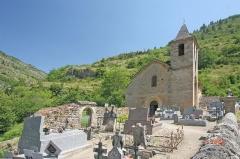Eglise paroissiale de l'Assomption de Saint-Chély-du-Tarn - Čeština: Église Notre-Dame-de-l'Assomption de Saint-Chély-du-Tarn