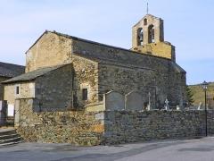 Eglise Saint-Assiscle et Sainte-Victoire de Villeneuve-des-Escaldes -  Sant Iscle de Vilanova d'Escaldes PA00103952