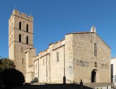 Eglise Notre-Dame del Prat - Deutsch: Pfarrkirche Notre-Dame del Prat, Argelès-sur-Mer, Frankreich (Ansicht O)