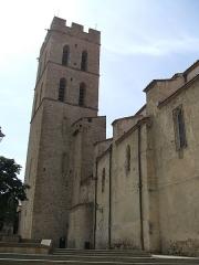 Eglise Notre-Dame del Prat - Català: Església de la Mare de Déu del Prat, a Argelers, vista des del sud.