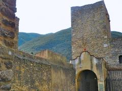 Abbaye Sainte-Marie - Català: Torre de defensa de l'abadia de Santa Maria d'Arles (Vallespir)