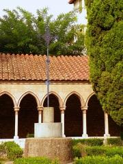 Abbaye Sainte-Marie - Català: Creu del gra de blat, a l'abadia de Santa Maria d'Arles (Vallespir)