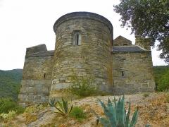 Abbaye de Serrabona - Català: Absis de Santa Maria de Serrabona, Rosselló