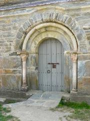 Abbaye de Serrabona - Català: Portalada romànica de Santa Maria de Serrabona, Rosselló