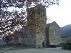 Abbaye de Serrabona - Català: Abadia de Serrabona, a Bula d'Amunt. Vista general.